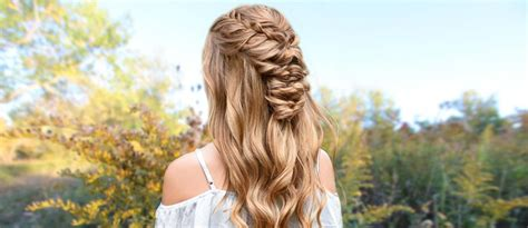 Half Up Half Prom Hairstyles by Try 42 Half Up Half Prom Hairstyles Lovehairstyles