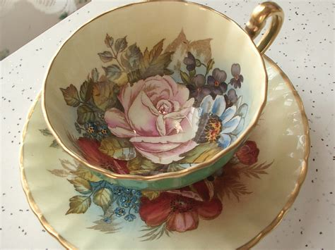 teapot ls for sale vintage aynsley bone china tea cups the punchcard posse