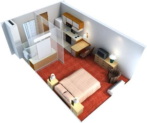layout of hotel guest room guest room layout picture of extended stay america