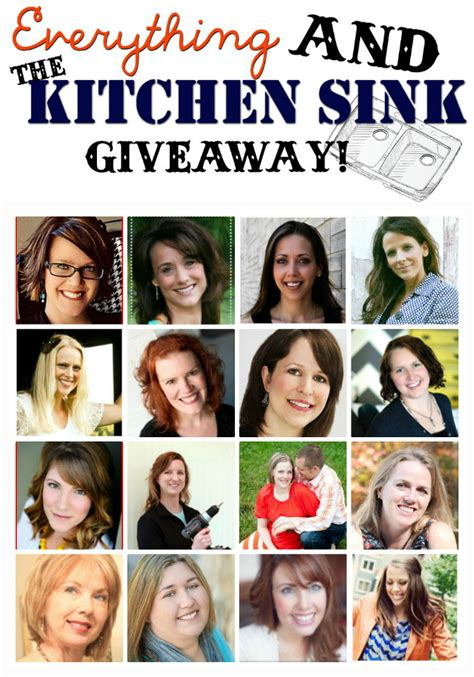 Everything And The Kitchen Sink by Everything And The Kitchen Sink Giveaway Home Stories A