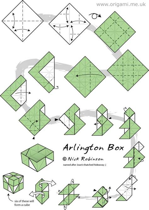 Origami Box Directions - origami module search paper crafts