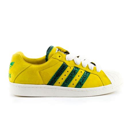 80 s sneakers adidas run dmc ultrastar 80 s sneakers yellow green ltd