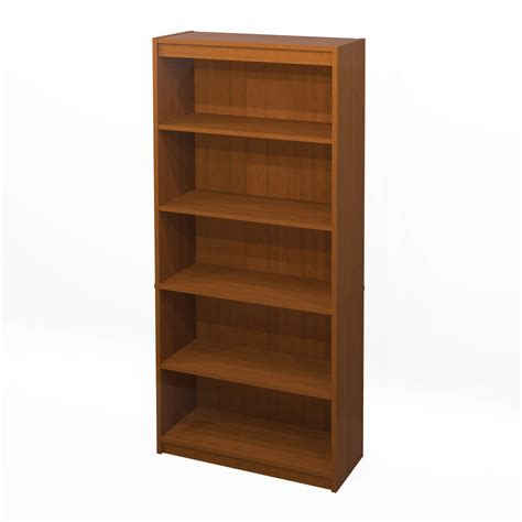shelves for bookcase bestar 5 shelf bookcase