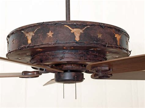 rustic lighting and fans rustic ceiling fans longhorn ceiling fan creative