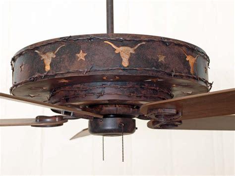 rustic cabin ceiling fans rustic ceiling fans longhorn ceiling fan creative
