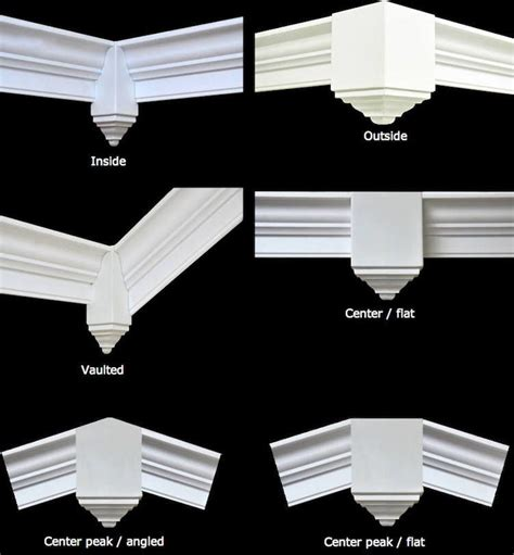 How To Cut Crown Molding Outside Corners For Cabinets by Crown Molding Corner Blocks Www Creativecrown