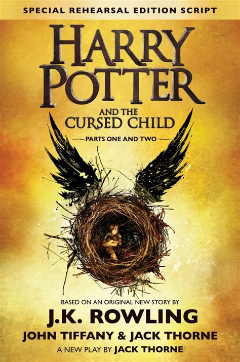 ve la portada definitiva para la quot versi 243 n libro quot de harry potter and the cursed child