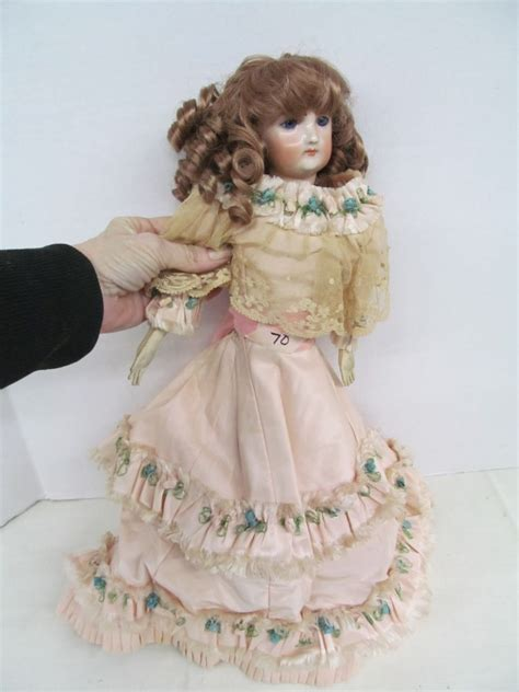 house of berkeley porcelain doll vintage porcelain doll w leather body marked f4g