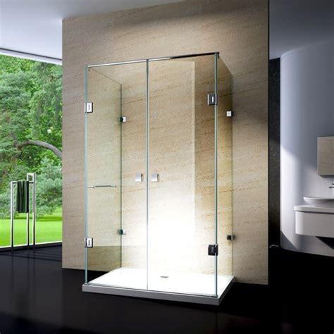 paroie de 120 duschkabine u form 8 mm nano echtglas ex412 120 x 90 x 195 cm inkl duschtasse badewelt