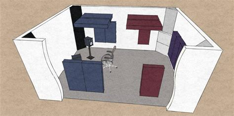 how to acoustically treat a room acoustically treated vs non treated room gik acoustics