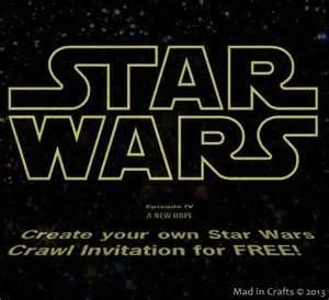 free printable star wars birthday invitations drevio