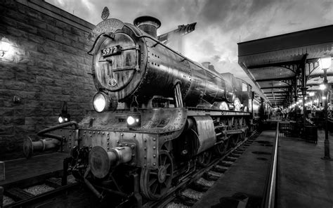 express nã rnberg pociąg hogwart express stoi na stacji
