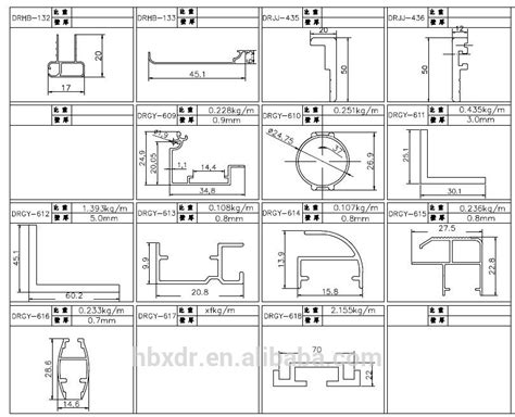 aluminium profile sections wow machinery aluminium section for industry large duty