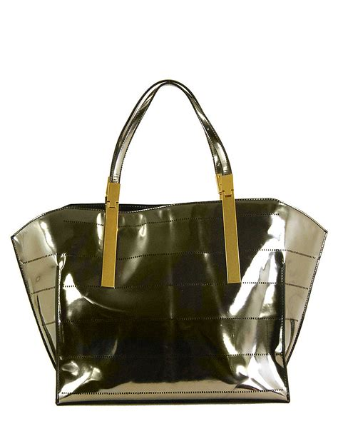 Zac Posen Alexia Frame Bag by Zac Zac Posen Danes Pvc Shopper Tote Bag In Green