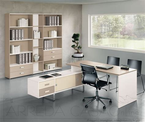 mobili x ufficio mobili per ufficio componibili scrivania libreria avorio