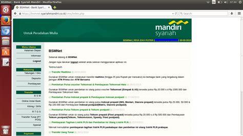 download mandiri syariah mandiri syariah internet banking android can download to