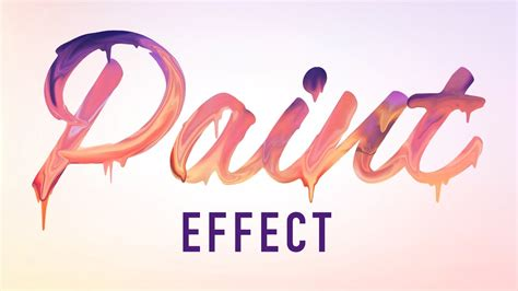 lettering tutorial paint learn how to create paint dripping text effect in adobe