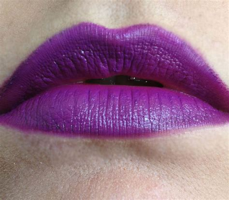 heroin color mac heroine lipstick 5 ways to rock a violet pout
