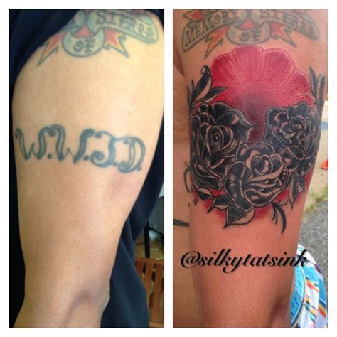 tattoo font cover up traditional rose cover up tattoo by silkytatsink on deviantart