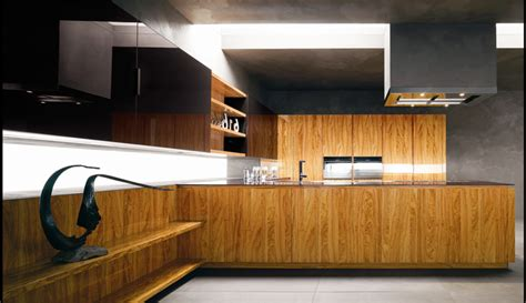 Modern Kitchen With Luxury Wooden And Marble Finishes Modern Wood Kitchen Design