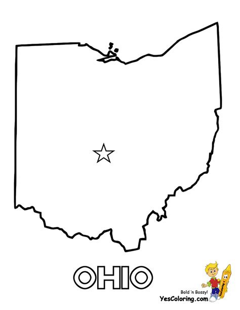 state of ohio free state maps massachusetts south dakota map outline map of us states