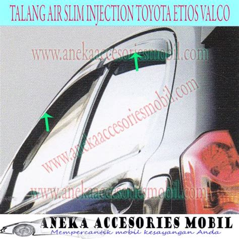 Toyota Agya 2016 Talang Air Injection Side Visor Injection jual promo talang air side visor slim injection toyota etios valco limited 20170611 di lapak