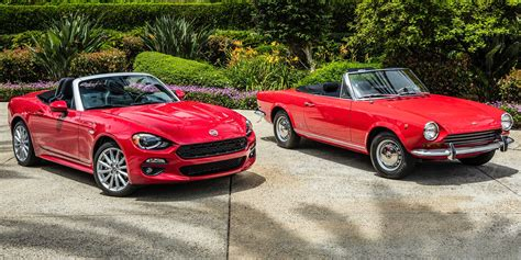 fiat spider 2017 fiat 124 spider review