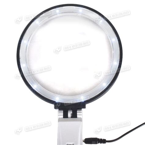 large magnifying glass with light 5x large magnifying glass with light led lamp magnifier