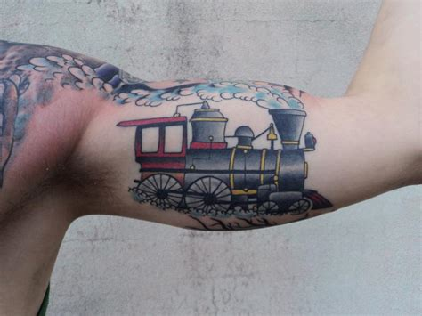 train tattoo art designs bodysstyle