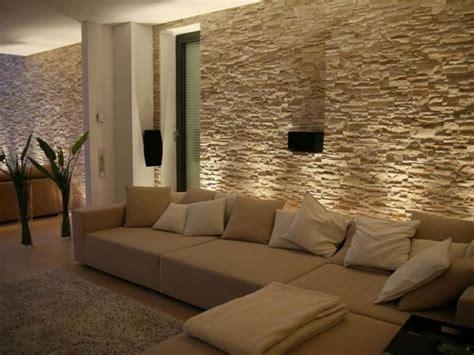 pietra parete soggiorno parete soggiorno rivestita in pietra idee per la casa