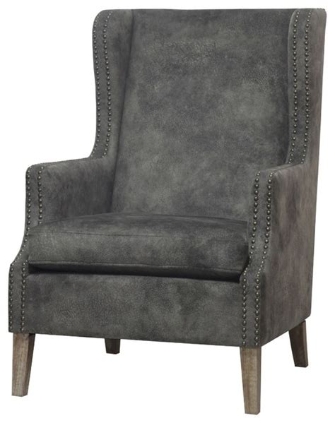 ellington fabric wing arm chair traditional armchairs