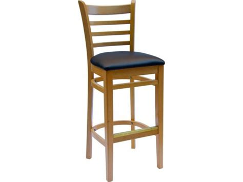 bar stools burlington burlington wooden bar stool with vinyl seat cfs 101v bar