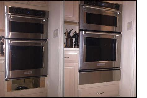 wall oven filler strip    kitchenaid