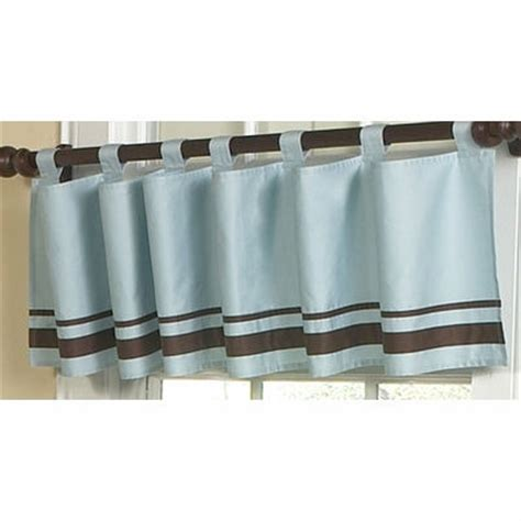 Blue And Brown Window Valance Jojo Hotel Blue And Brown Window Valance The Frog And