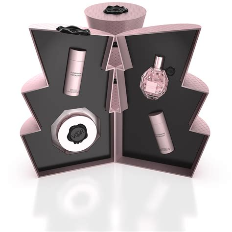 viktor rolf flowerbomb christmas gift set by jeffrey