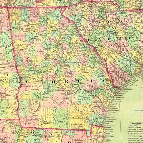 ga map the usgenweb archives digital map library maps index