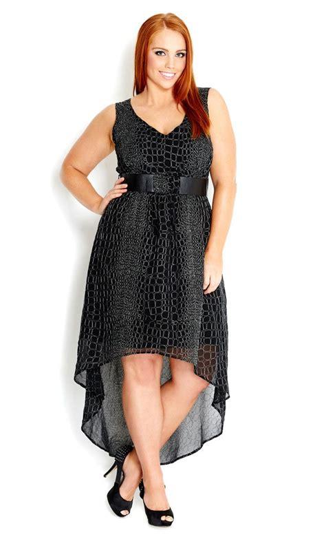 city chic metallic dress with belt s plus size