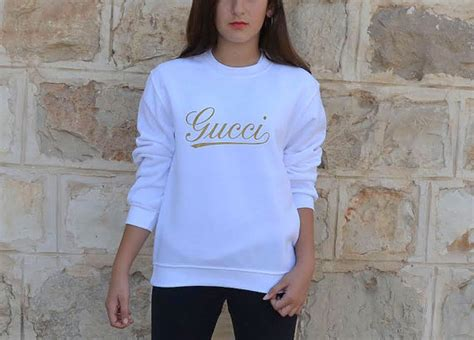 Latest Kitchen Accessories gucci sweatshirt inspired gucci logo gold print for by
