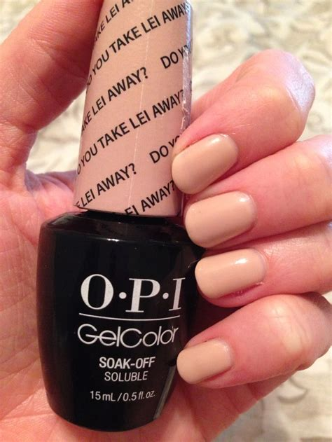 opi hair color opi gelcolor do you take lei away 3 coats nails