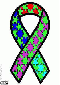 color for autism free autism ribbon coloring pages