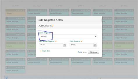 cara membuat model jadwal baru template jadwal sd cara membuat dan mengatur jadwal pelajaran di padamu