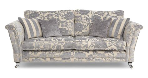 floral couches hogarth floral 4 seater sofa hogarth floral dfs