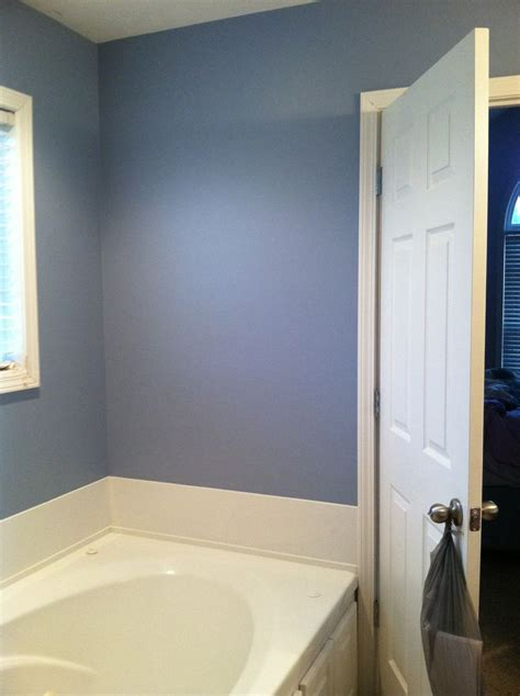 russian blue  behr baby  bathroom wall colors