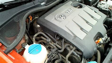 Touran 1 6 Tdi Probleme by Polo 6r 1 6 Tdi Engine Problem Strange Sound