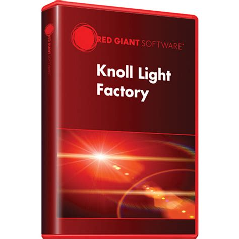 Knoll Light Factory Red Giant Knoll Light Factory Upgrade Download Knoll Pro Ud