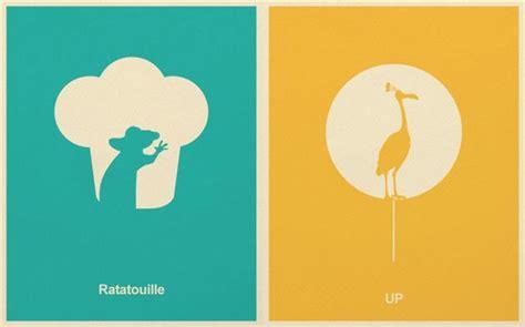 disney pixar minimalist posters hiconsumption