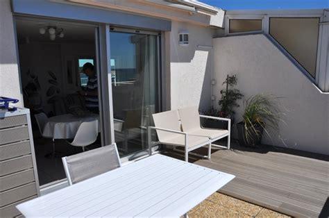 terrasse 15m2 balaruc les bains flamants roses t2 classe 4 36m2