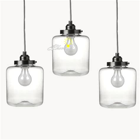 glass jar pendant light nordic clear glass jar pendant lighting 8861 browse