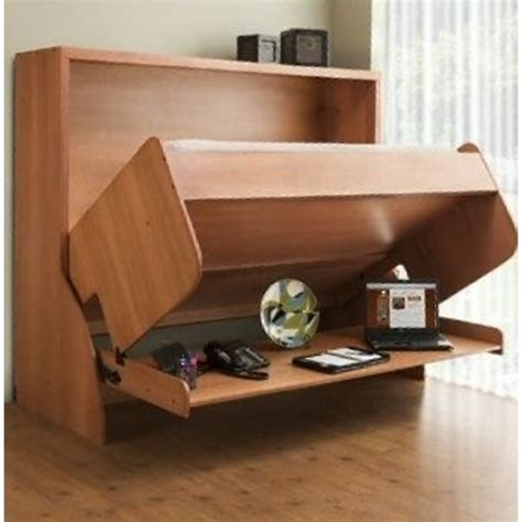 Bed To Desk Conversion hiddenbed converts from desk to bed without removing desk