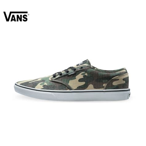 Sneakers Motif Army Gotrack Camo Green original vans army green color camouflage low top s